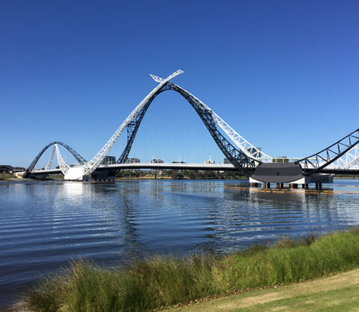 Swan River Pedestrian Bridge (Matagarup Bridge)